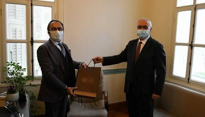 Başkan Gökhan'dan Yılmaz'a Ziyaret
