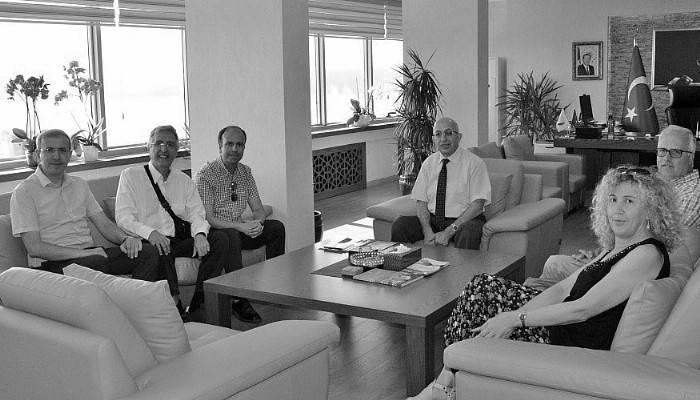 İtalyan Akademisyenlerden Rektöre Ziyaret
