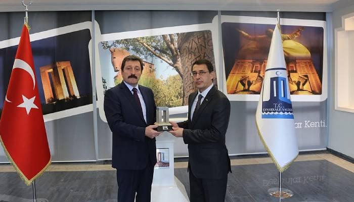 Türkmenistan'ın Ankara Büyükelçisi İsankuli Amanlıyev Vali Orhan TavlıI'yı Ziyaret Etti