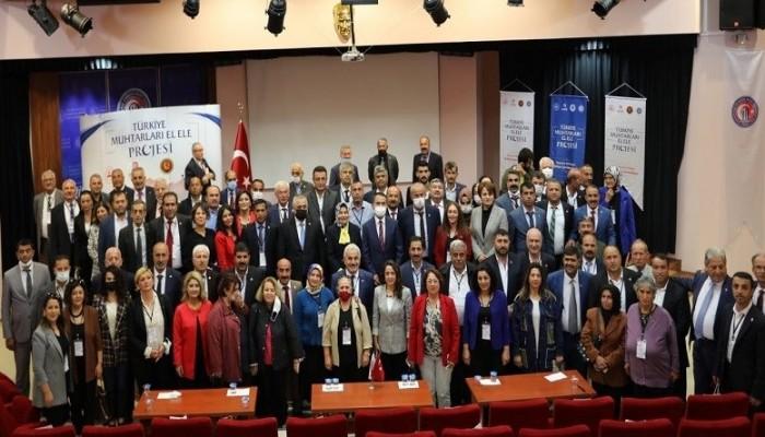 'Türkiye Muhtarları El Ele' Çanakkale'ye Geldi