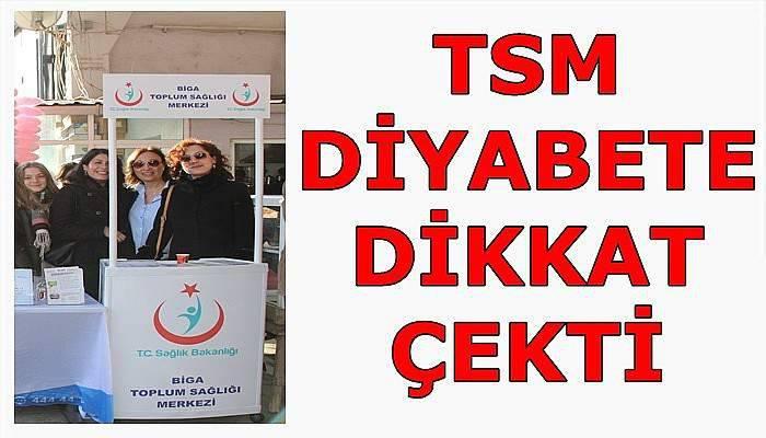 Biga TSM'den Diyabet Günü etkinliği