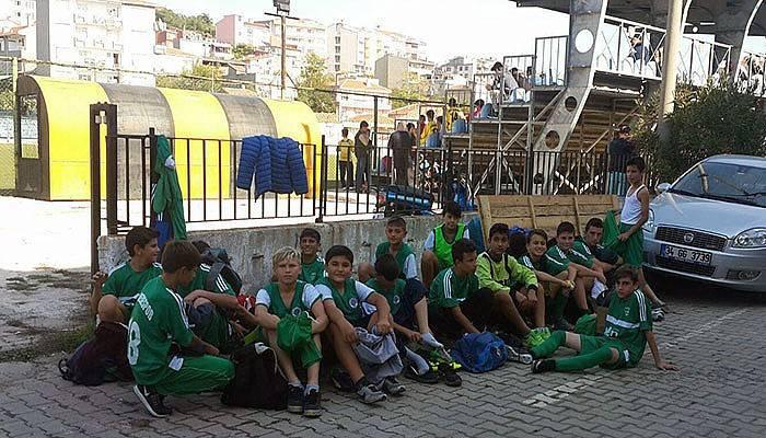 Gelibolu'da futbol rezaleti