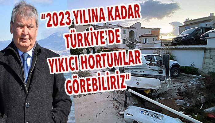 '2023 yılına kadar Türkiye'de yıkıcı hortumlar görebiliriz' (VİDEO)