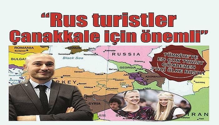 TÜRKİYE'YE EN ÇOK TURİST GÖNDEREN 2'NCİ ÜLKE RUSYA