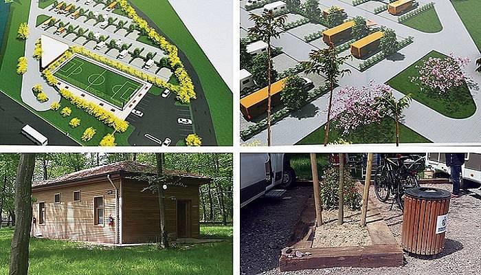 'Karavan Park' projesine Çanakkale'de dahil edildi