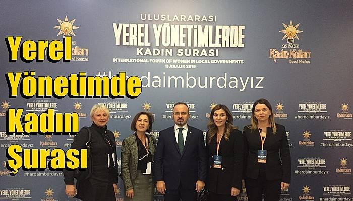 Çanakkale AK Parti Meclis üyesi kadınlar Ankara'ya gitti