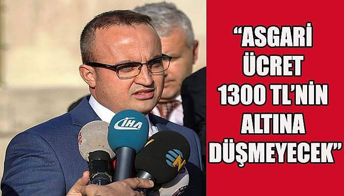 Turan'dan asgari ücret açıklaması!