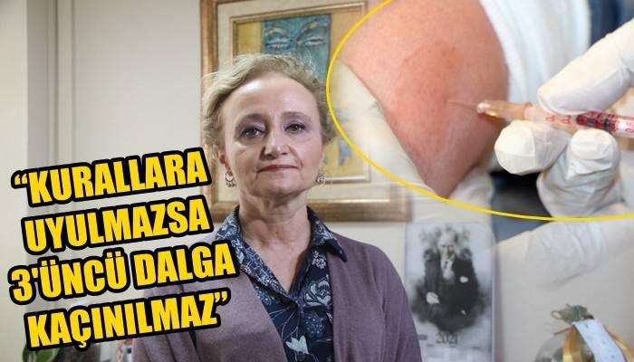Sağlık Bakanlığı Bilim Kurulu Üyesi Prof. Dr. Yeşim Taşova; 'KURALLARA UYULMAZSA 3'ÜNCÜ DALGA KAÇINILMAZ' (VİDEO)