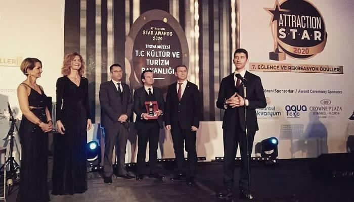 Troya Müzesi 'En Başarılı Müze' seçildi