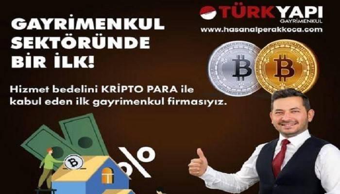 KUMPİRCİDEN SONRA EMLAKÇIDA: Çanakkale'de popülerliği devem eden ödeme Bitcoin