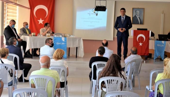 İŞKUR programları, SGK teşvikleri ve hibe destekleri Geyikli'de anlatıldı