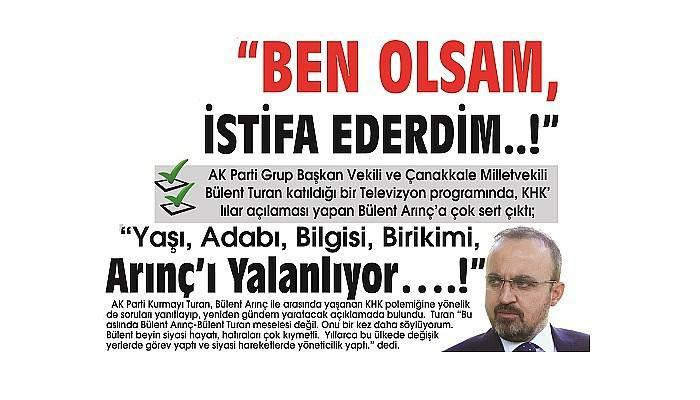"""""""BEN OLSAM, İSTİFA EDERDİM..!"""""""