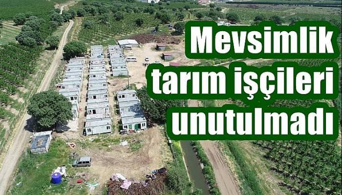 Mevsimlik tarım işçileri unutulmadı