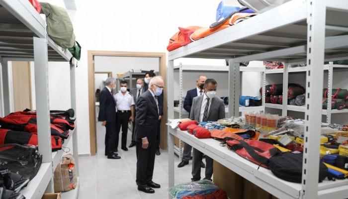 Vali Aktaş'tan AFAD yeni binasında inceleme