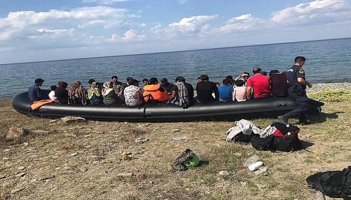 Ayvacık'ta 2 günde 385 kaçak göçmen yakalandı (VİDEO)