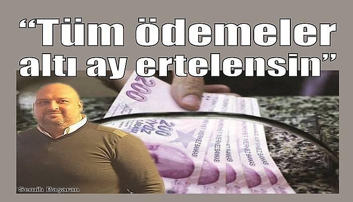 """SALGINDAN SONRA EKONOMİK KRİZ KAPIDA"""