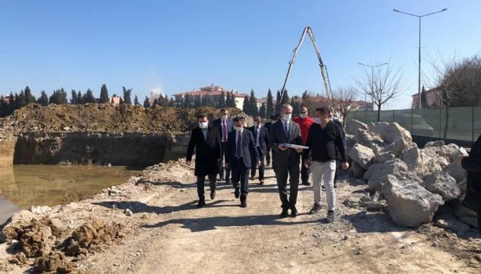 Vali Aktaş Gelibolu Spor Kompleksi inşaatını inceledi