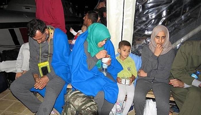 Ayvacık'ta 49 kaçak yakalandı (VİDEO)