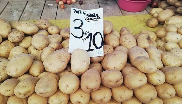 3 kilo patates 10 TL
