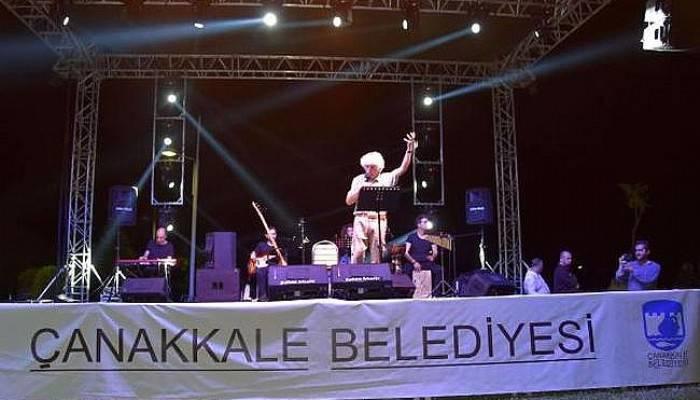 Çanakkale Belediyesi Yaz Konserleri Başladı