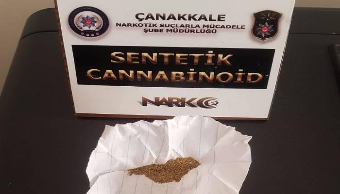 Çanakkale'de uyuşturucu operasyonu: 10 gözaltı