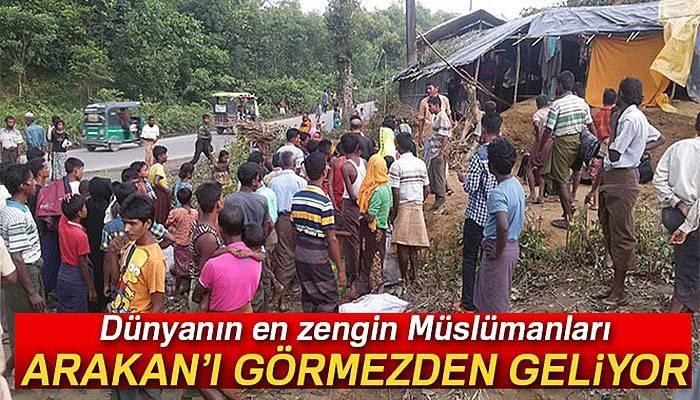 Dünyanın en zengin Müslümanları Arakanlı Müslümanları görmezden geliyor