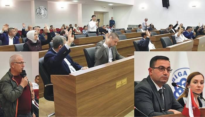 Biga Belediyesi Kasım 2019 Ayı Meclis Toplantısı Yapıldı