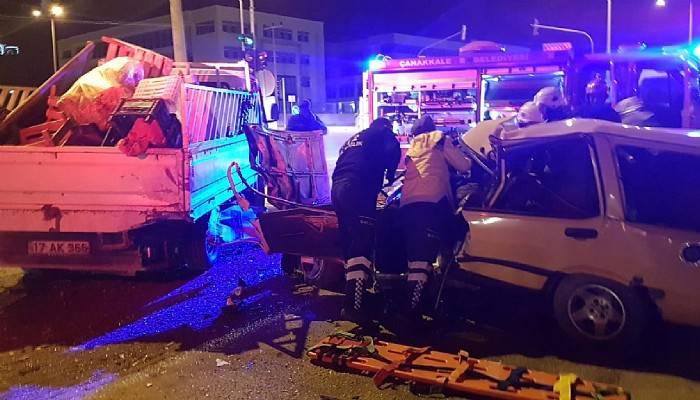 Çanakkale'de kazalarda 263 kişi yaralandı