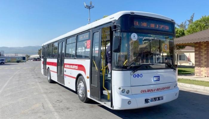 İzmir Büyükşehir Belediyesinden Gelibolu Belediyesine Otobüs Hibe Edildi