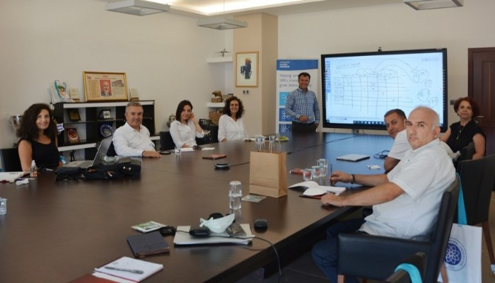 Avrupa İşletmeler Ağı Batı Marmara Konsorsiyum Toplantısı ÇTSO'da yapıldı