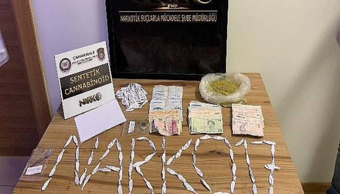 Çanakkale'de uyuşturucu ticaretine 1 tutuklama