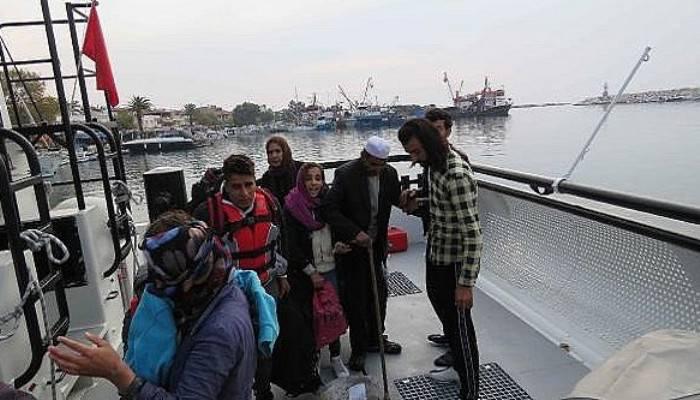 Çanakkale'de 211 kaçak göçmen yakalandı (VİDEO)