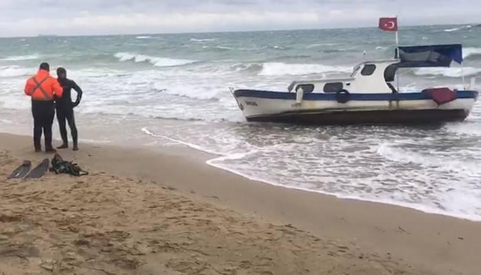Bozcaada'da teknesiyle denize açılan kişinin cansız bedenine ulaşıldı (VİDEO)