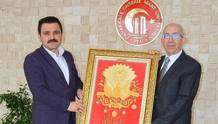 Alan Başkanı Kaşdemir, Rektör Murat'ı ziyaret etti