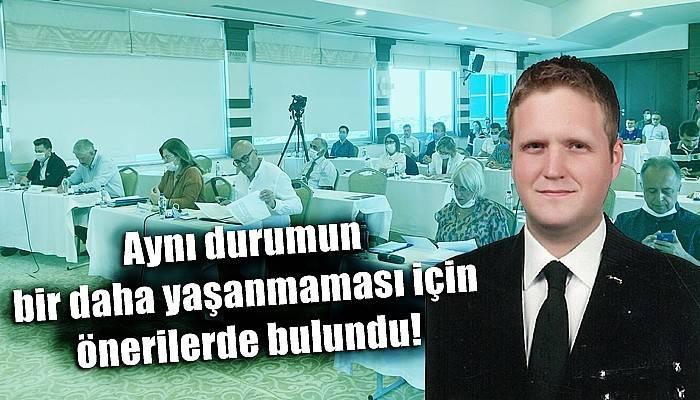 Belediye Meclis Üyesi CHP'li Güzel'den Covid-19 sürecinde Belediye Meclis Toplantıları için öneri