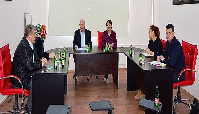 Lapseki Belediyesi Sosyal Yardımlaşma Fonu toplantısı