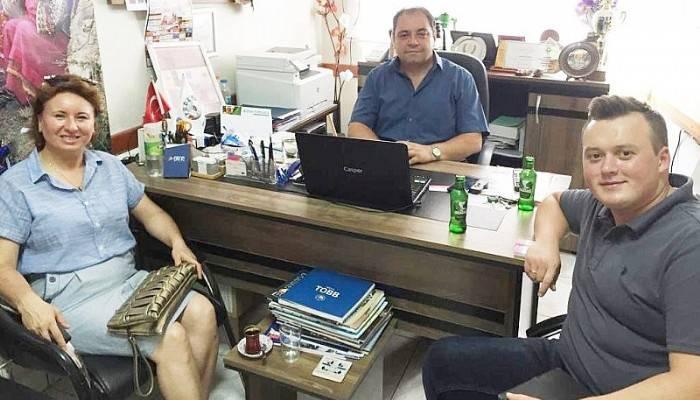 Özel Biga Can Hastanesi Pomak Derneğini Ziyaret Etti