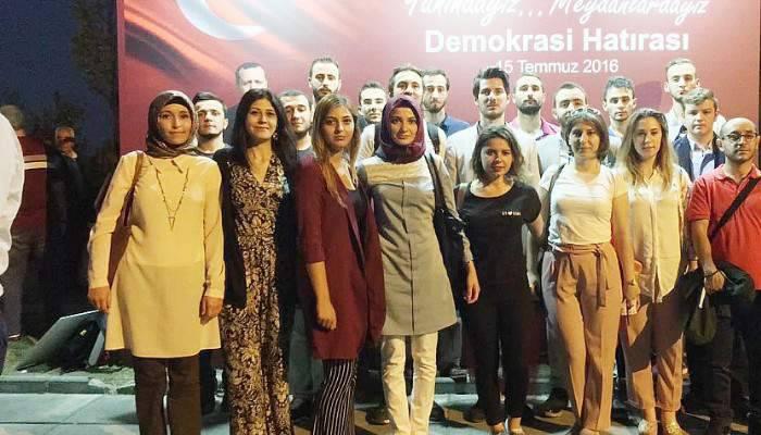 Çanakkaleli AK Gençler Ankara'da
