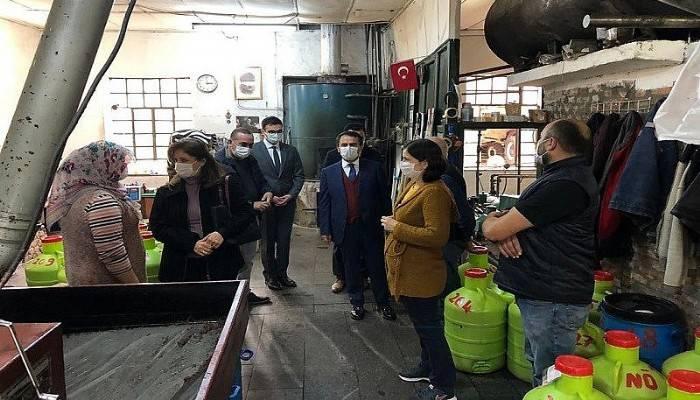 Vali Aktaş, Kemallı Köyü'ne gitti