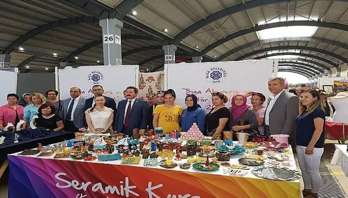 Biga Alışveriş ve Kültür Festivali yoğun katılım ile gerçekleşti