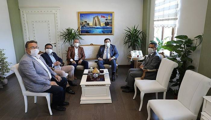 Milletvekili Erkek, Vali Aktaş'ı ziyaret etti