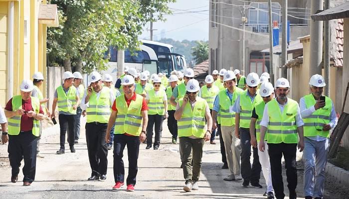Çanakkale'de SSB Teknolojisiyle Yol Yapımı