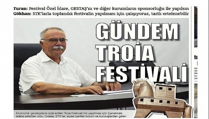 Turan: Festival Özel İdare, GESTAŞ'ın ve diğer kurumların sponsorluğu ile yapılsın Gökhan: STK'larla toplandık festivalin yapılması için çalışıyoruz, tarih ertelenebilir