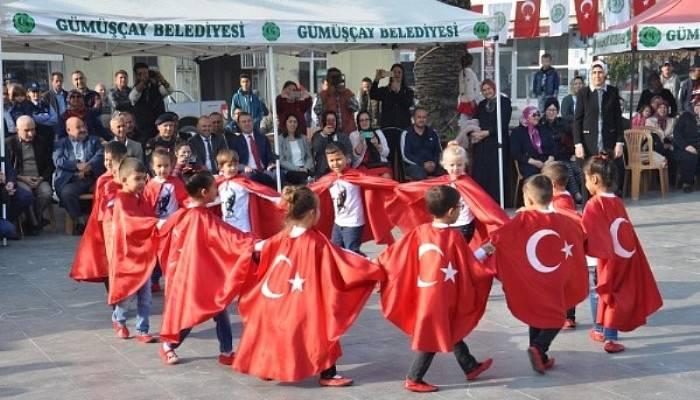 Gümüşçay'da 29 Ekim Cumhuriyet Bayramı Kutlamaları