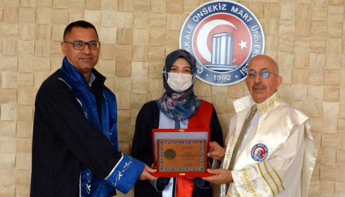 Acil Servis Stajında Yılın En Başarılı Doktoru ÇOMÜ'lü