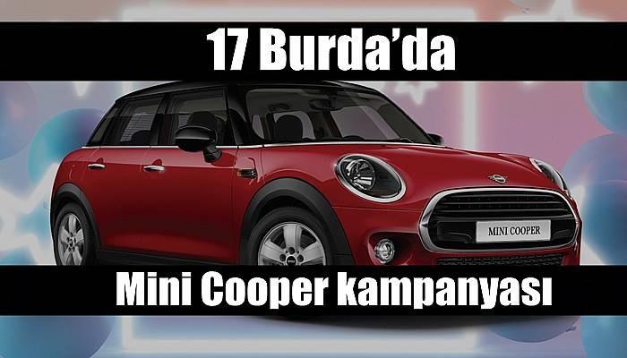 17 Burda'da Mini Cooper kampanyası