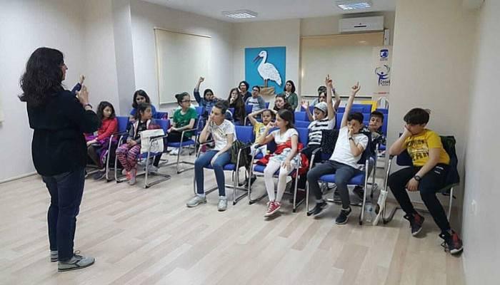Çocuk Kültür Evi Yazar Bozdemir'i ağırladı