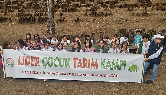 Lider Çocuk Tarım Kampı Gerçekleştirildi