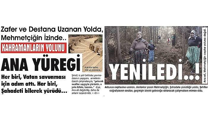 Zafer ve Destana Uzanan Yolda, Mehmetçiğin İzinde..