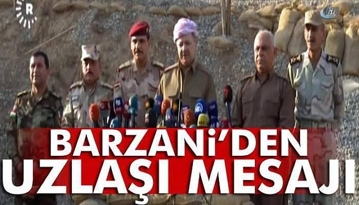 "Barzani: ""Ankara'yla Bağdat arasında uzlaşı sağlanmalıdır"""